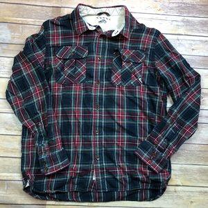 🔴3/$25 VANS Plaid Flannel Long Sleeve Shirt